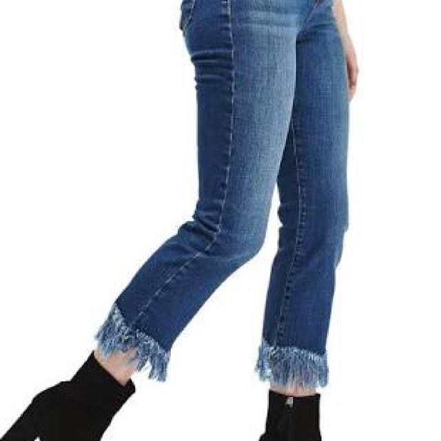 Topshop dree flare jeans