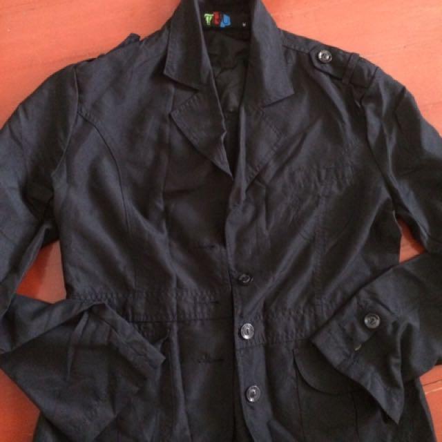 TRU  Black Casual Jacket size medium