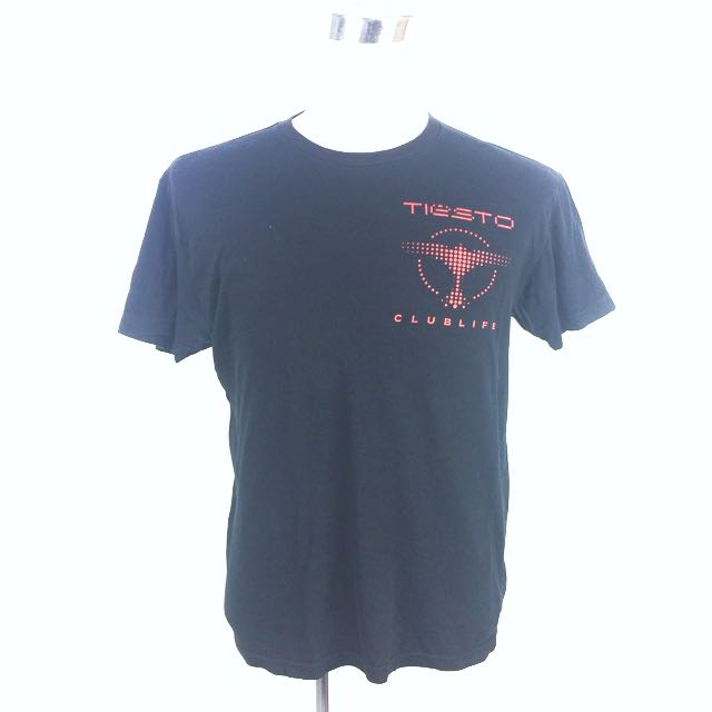 Used TIESTO Clublife EDM Techno T-Shirt