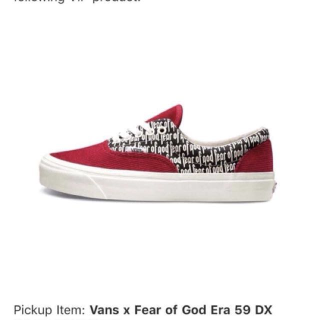 30ed320c1cfc Vans FOG ERA 95 DX (RED)