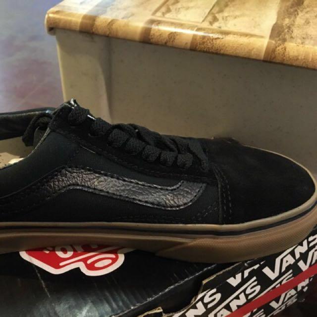 Vans Old School Gumsole - All Black