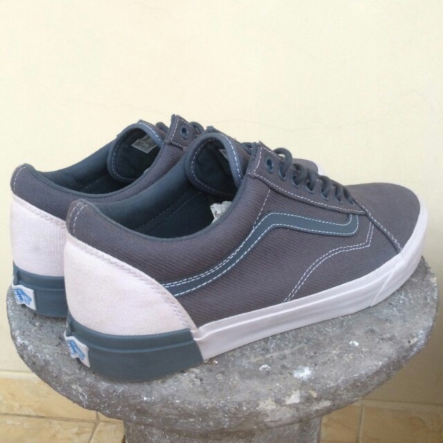 894c3862d76f61 Vans Old Skool DX Blocked Dark Slate Wind Original