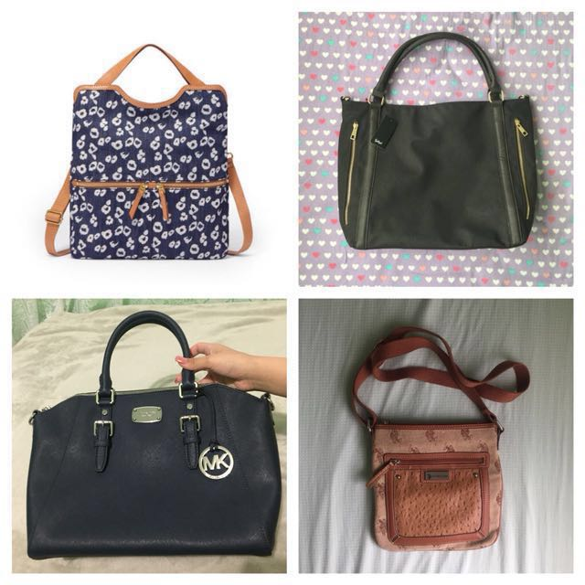 Various bags and wallets! Check out store for more!