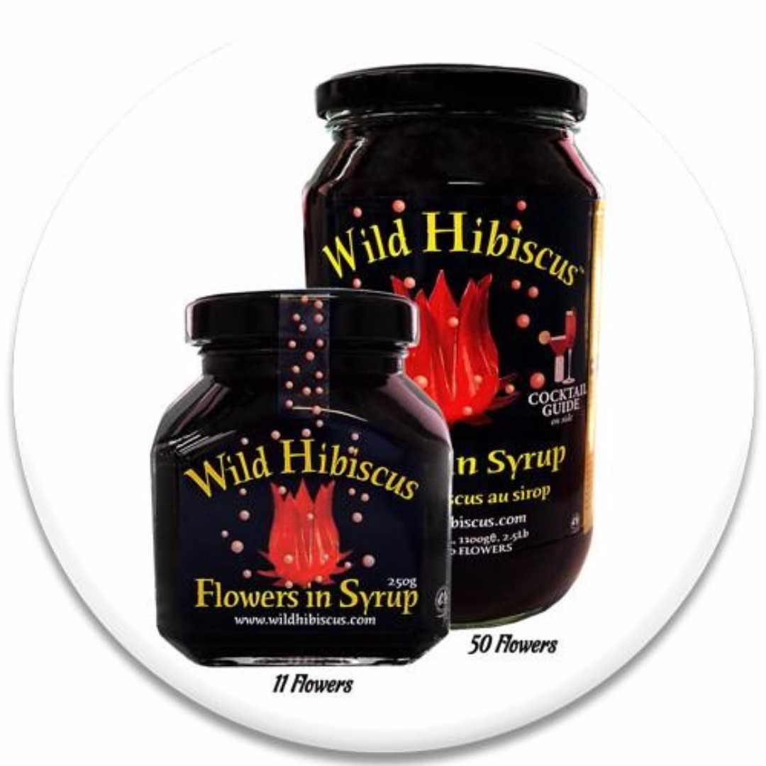 Wild Hibiscus Flowers In Syrup 11 Flowers Food Drinks