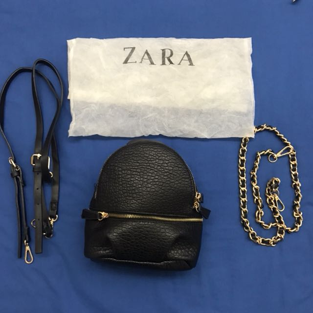 Zara bag 3 ways backpack and sling bag