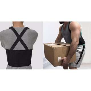 Back And Lumbar Support Brace Belt