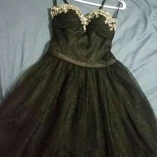 Black Grad/Prom Dress