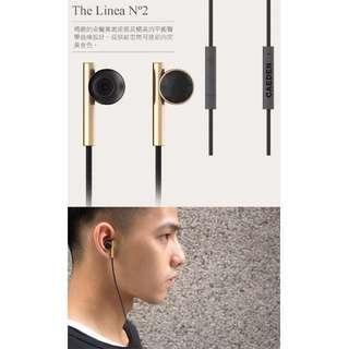 🚚 CAEDEN耳道式iPhone線控耳機 (黑/白兩色)