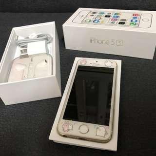 🚚 📱二手iPhone 5s金色16G