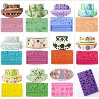 ISO CAKE DECORATING MOULDS