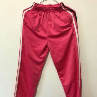Pink jogging pants size M