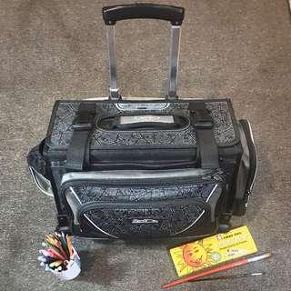 HAWK Trolley Bag Black