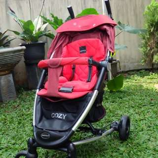 stroller merk babyelle type cozy