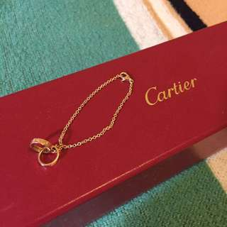 Cartier rose gold 手鍊