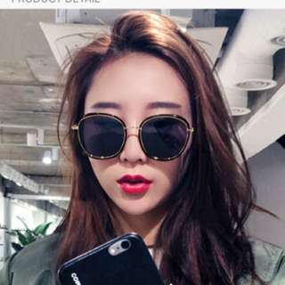 Ulzzang Style Nanda Korean Oversized Sunglasses brand new with pouch