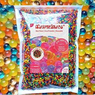 Marvel Beads Water Beads Rainbow Mix For Orbeez Spa Refill