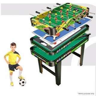 4-in-1 Games Table- Air Hockey / Pool / Foosball / Table Soccer