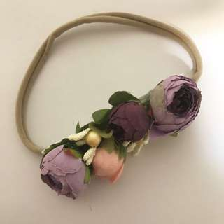 BN Baby Wedding Flowergirl Headband