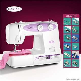 CARINA 23-Pattern Mini Sewing Machine-Purple NEW