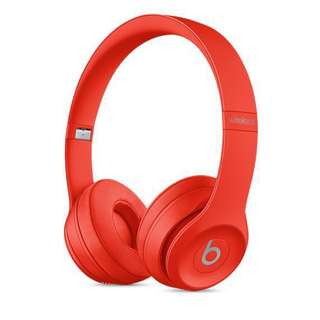 Beats Solo3 Wireless On-Ear Headphones Limited Red Edition