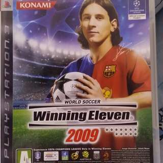 PlayStation 3 : World Soccer Winning Eleven 2009