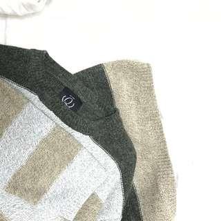 🚚 長板條紋針織衣