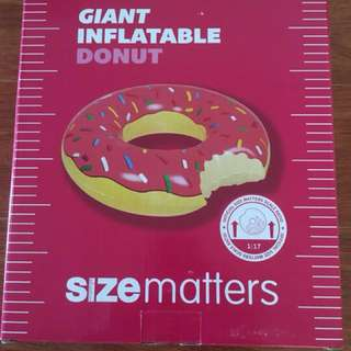 PRICE DROP! - Giant inflatable donut