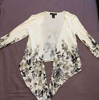 Flower Cardigan (White House Black Market)