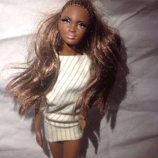 City shopper barbie doll