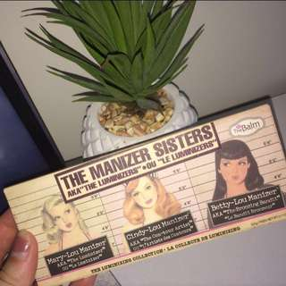 The Balm Manizer Sisters highlight palette