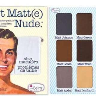 Meet Matt(e) Palette by The Balm