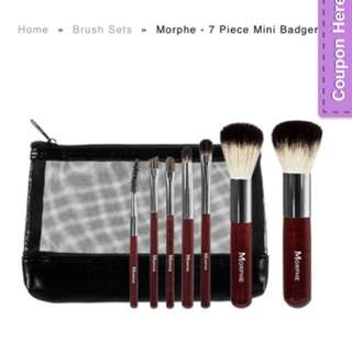 Morphe's mini brush set