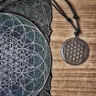 🇺🇸Flower of life Necklace生命之花項鍊