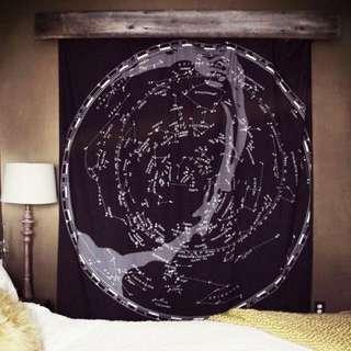🇺🇸美國Constellation Map Tapestry星座掛毯