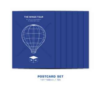 BTS Wings Tour Bluray Postcards