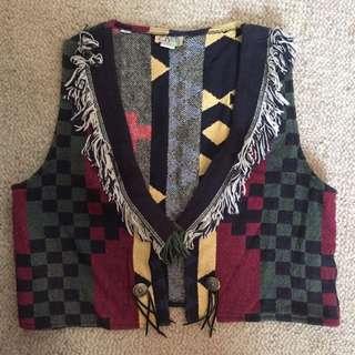 VINTAGE funky One-of-a-kind Vest