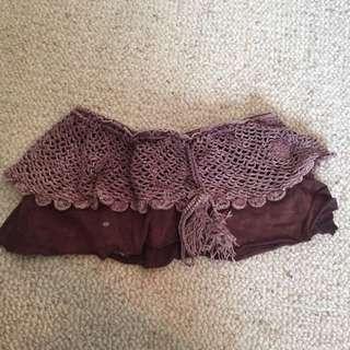 TREE OF LIFE crochet/cotton Skirt