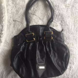 Ladies Black Handbag And Heels