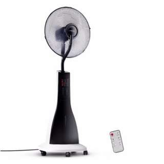 40cm Mist Fan with Remote Control White SKU: MF-RC-40-WH