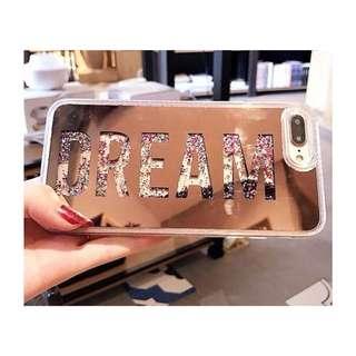 Aqua Glitter Case iPhone 6