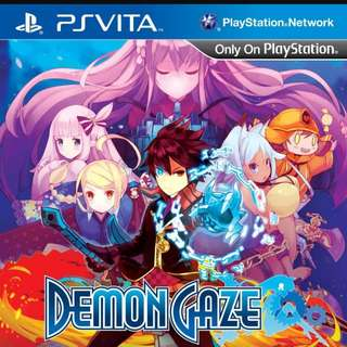 Ps Vita Demon gaze perfect condition