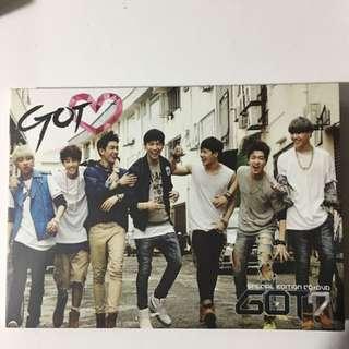 Got7 got love 專輯特別版 CD+DVD