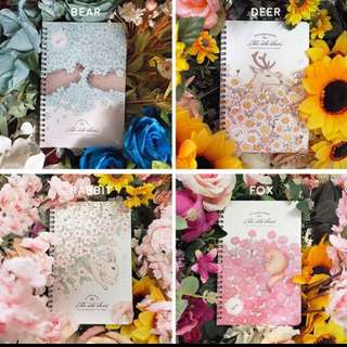 PAKET BUNDLING 3 SPRING RULED BOOK A5