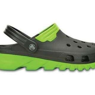 100% original crocs duet max clog