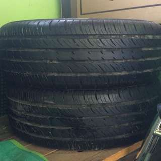 2 TIRES FOR SALE (15 SIZE)