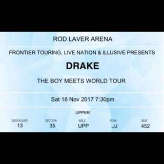 DRAKE 18TH NOV MELB