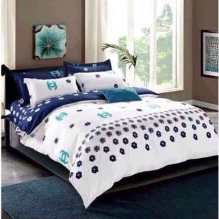 Bedtime Japanese Cotton Bedsheets Set 4 in 1
