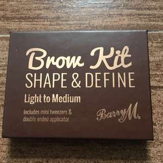 100% Authentic Barry M. Brow Kit Shape & Define