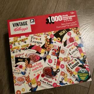 1000 piece puzzle vintage fruit loops