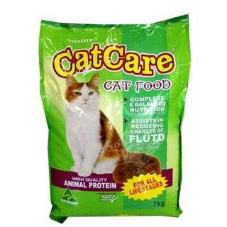 Cat Care Cat Food 1kg repacked